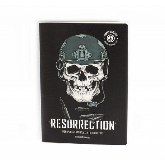 Скетчбук Resurrection пуля