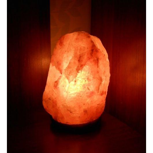 """Солевая лампа """"Скала"""", 2-3 кг, красного оттенка"""