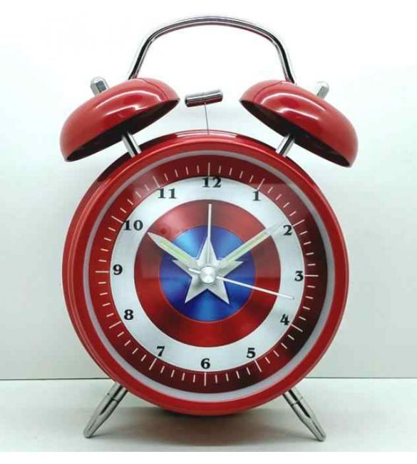 Будильник Капитан Америка