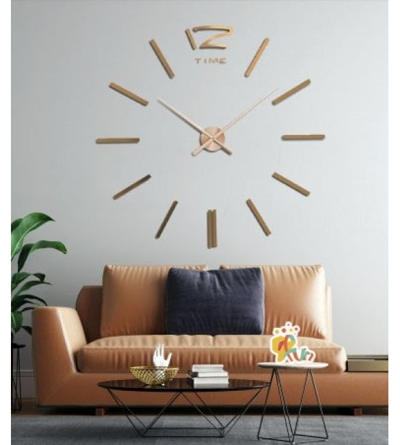 Настенные часы Сделай сам зеркальные цвет бронза