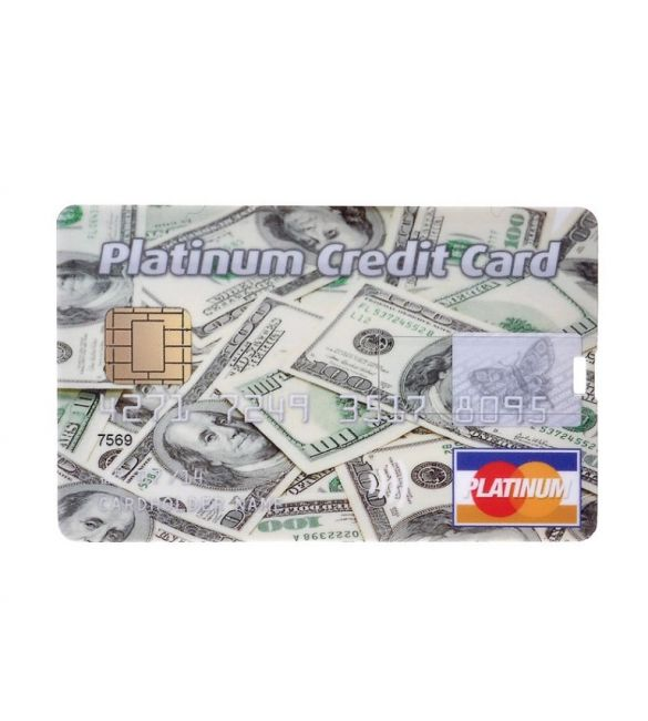 "Флешка-кредитка ""Platinum Credit Card dollar"" 4Гб"