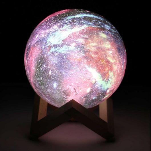 Светильник Планета на подставке 18 см