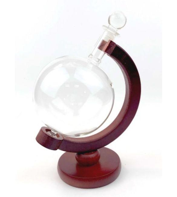 Емкость для напитков Глобус (стекло, дерево)