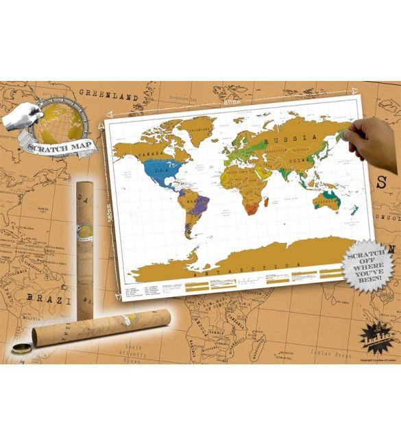 Стиральная карта Путешествуй по миру