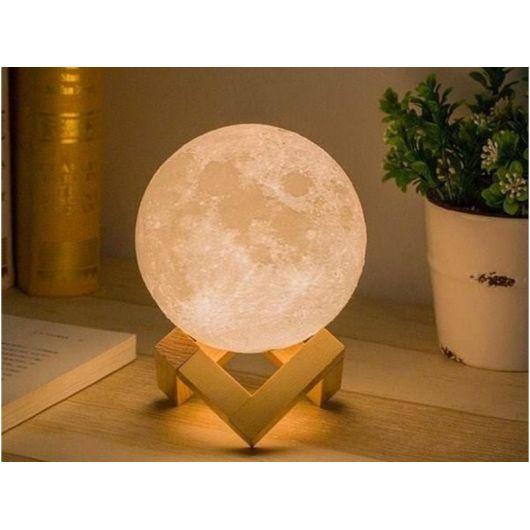 Светильник Луна на подставке 18 см