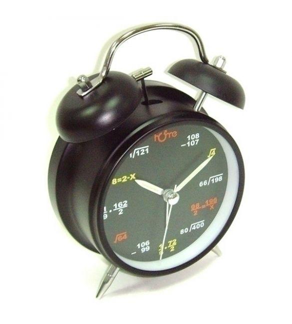 "Часы-будильник ""формулы на циферблате"""