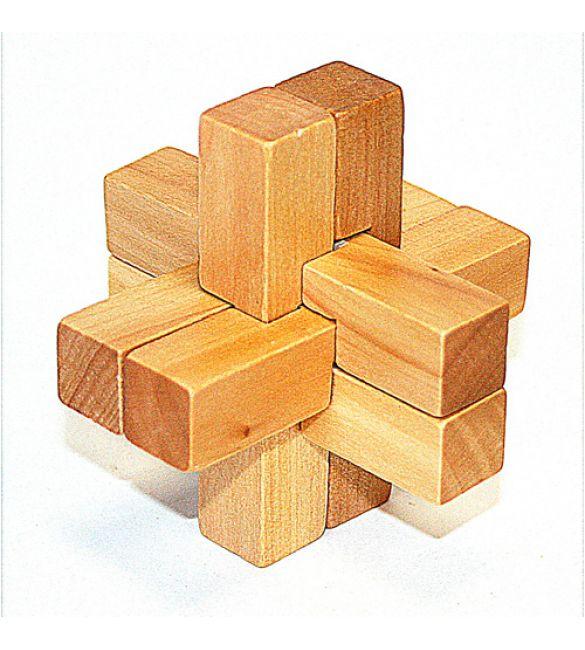 Головоломка деревянная в карт. кор. К57