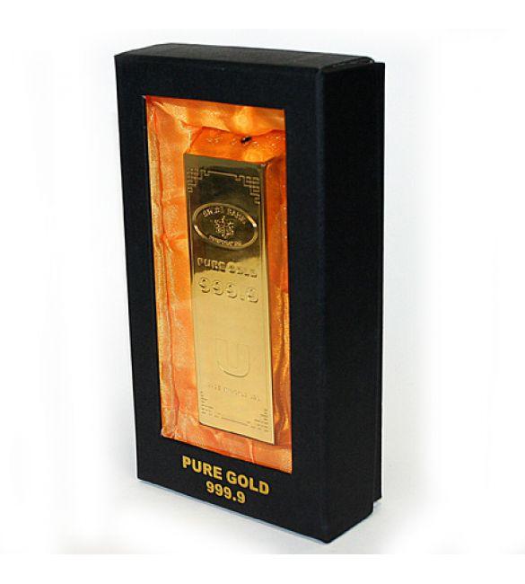 Зажигалка Слиток Золота Z4  в коробке