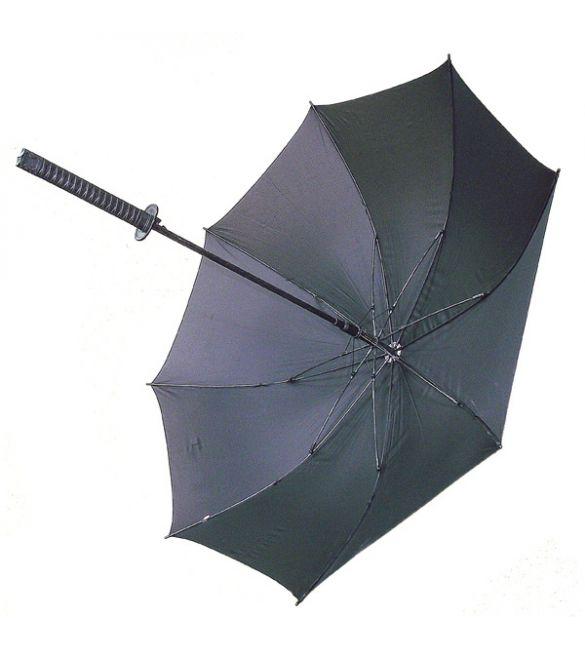 "Зонт ""Меч самурая"" чёрный"