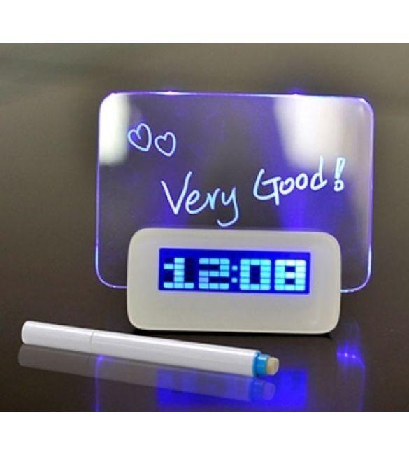 USB часы с LED-доской для сообщений