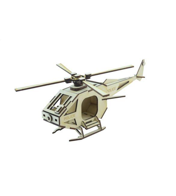 """Конструктор-вертолет """"Police"""""""