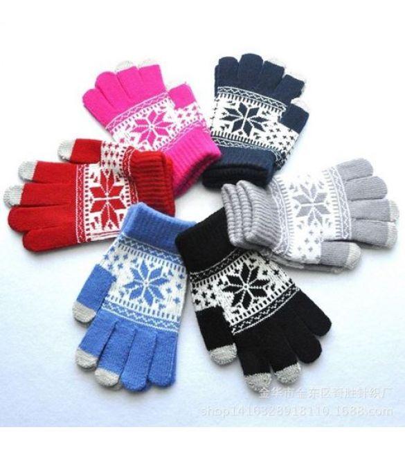 Перчатки сенсорные igloves новогодние