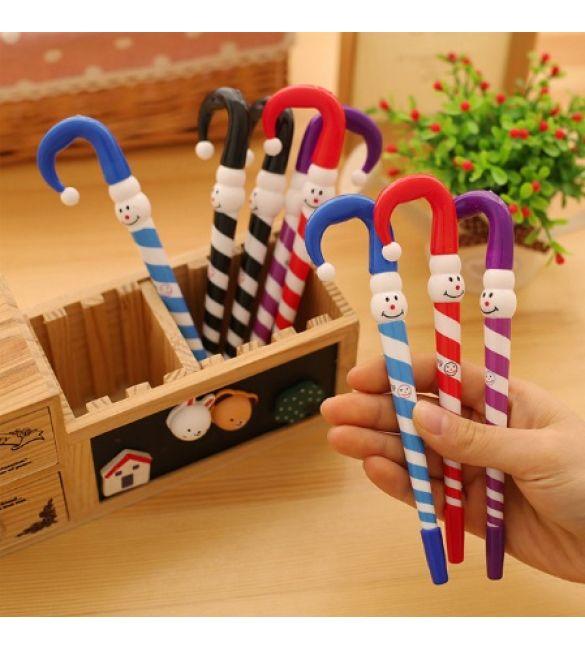 Рождественская шариковая ручка (в упаковке 3 шт)