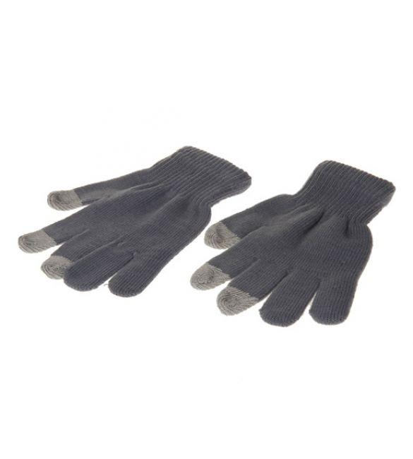 Перчатки для сенсорных устройств (серые)