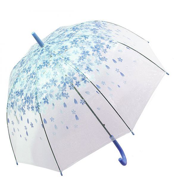 """Зонт """"Цветы синие"""""""
