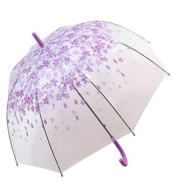 """Зонт """"Цветы фиолетовые"""""""