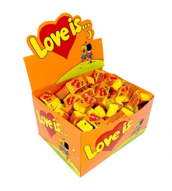 Жвачка Love is... апельсин/ананас