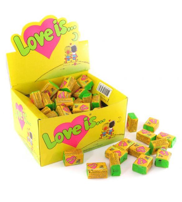 Жвачка Love is ... кокос/ананас