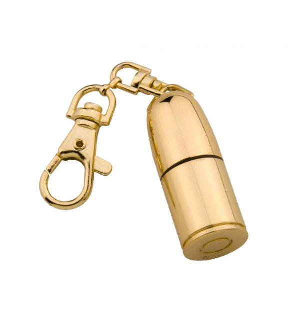 Флешка Пуля 8гб золото