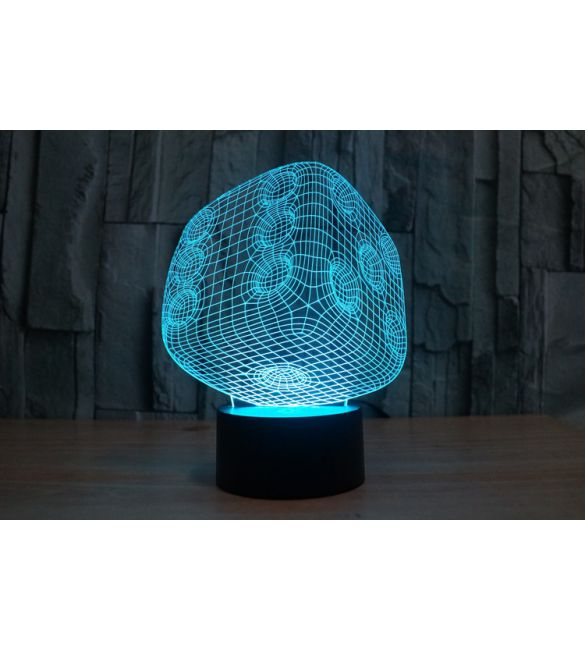 3D светильник Кубик