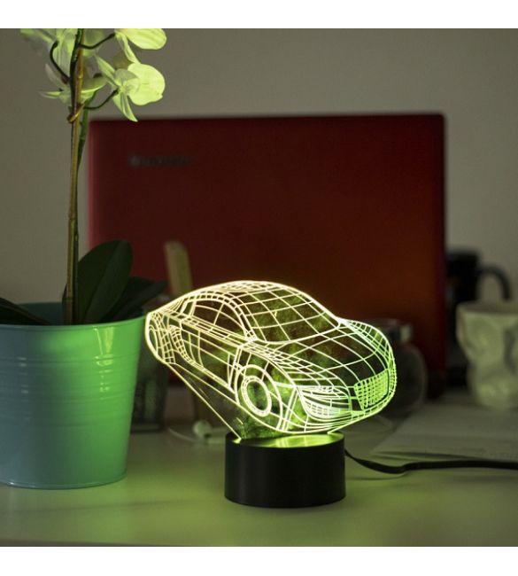3D светильник Авто