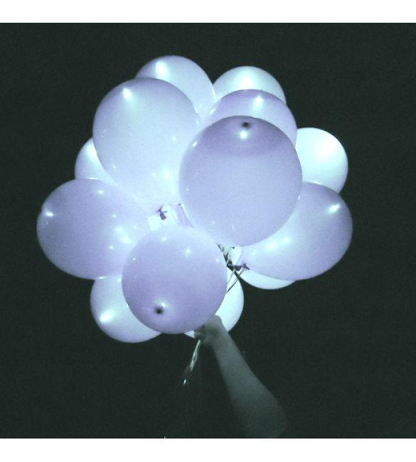 Светящийся 3D шар 30шт