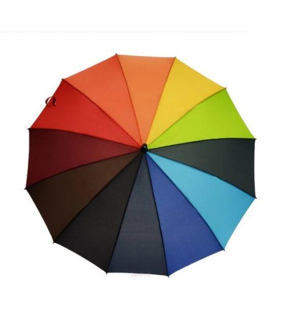 Зонт трость радуга 13 спиц
