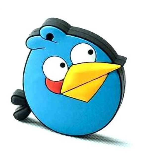 Флешка Angry birds синий 8 Гб