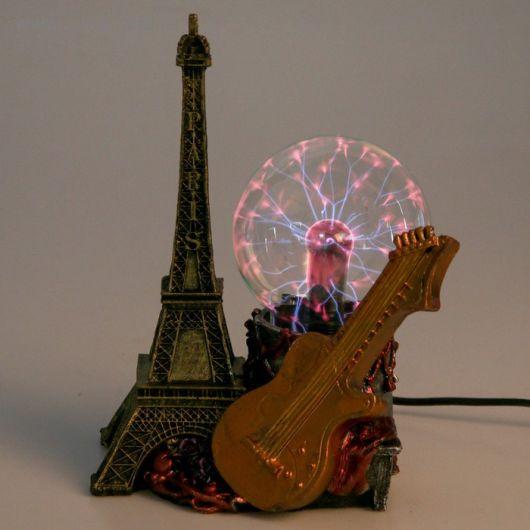 Плазменный шар Париж