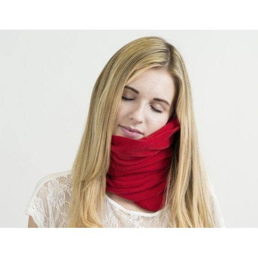 Подушка-шарф для сна Travel Pillow
