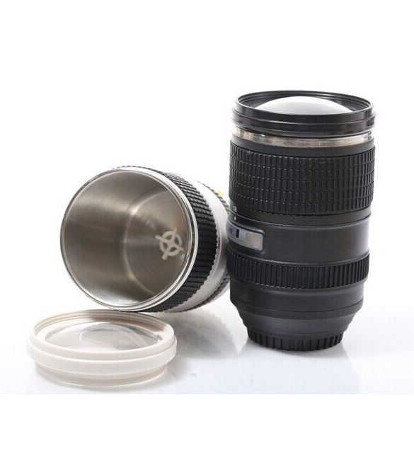 "Термокружка-мешалка ""Фотообъектив"" Canon 24-105mm L"