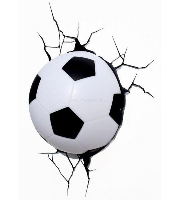 """Пробивной 3D светильник """"Футбольный мяч"""""""