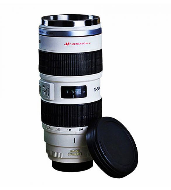 """Термокружка """"Фотообъектив"""" Canon 70-200mm L"""