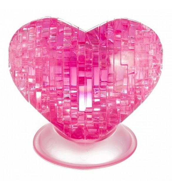 "3D пазл ""Crystal Puzzle Сердце"""