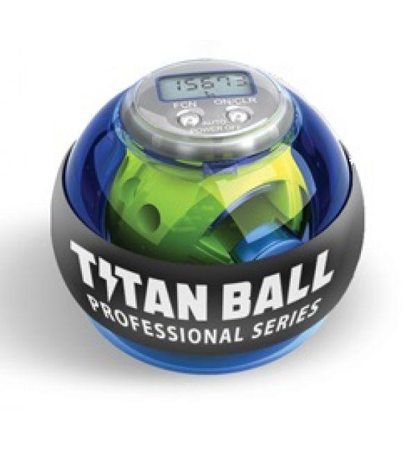 Кистевой тренажер Titan ball со счетчиком  (синий)