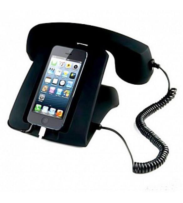 Ретро телефон к мобильному устройству