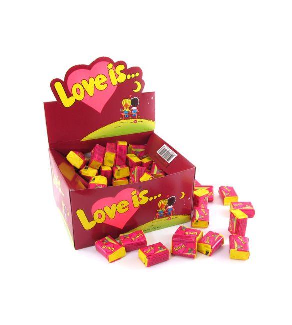 Жвачка Love is... вишня/лимон