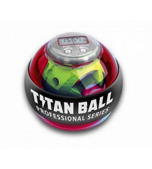 Кистевой тренажер Titan ball со счетчиком  (оранжевый)