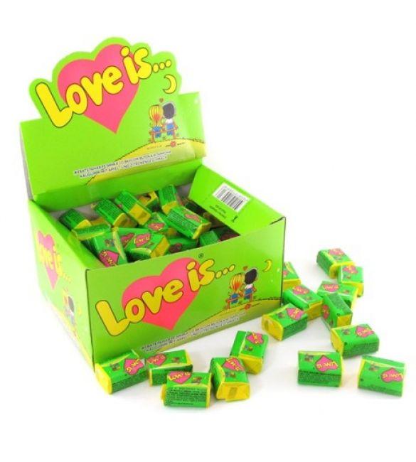 Жвачка Love is... яблоко/лимон