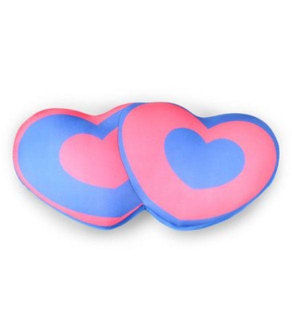 "Подушка-антистресс ""Подушка-двушка"", розово-синяя"