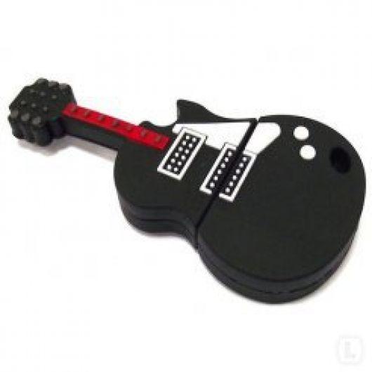 """Флешка """"Черная гитара"""" 8 Гб"""