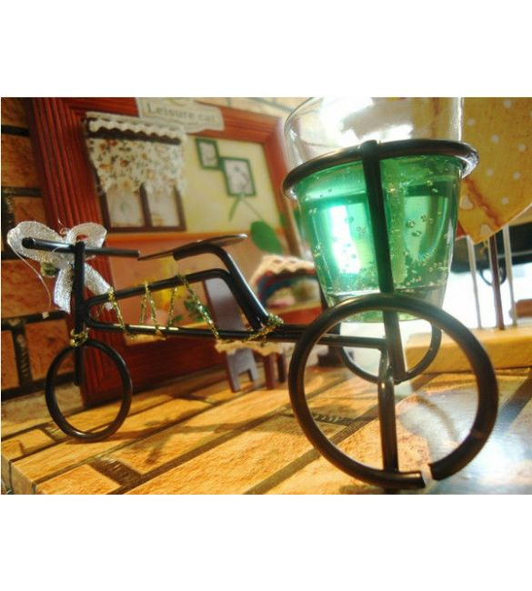 """Свеча """"Огненный велосипед"""""""