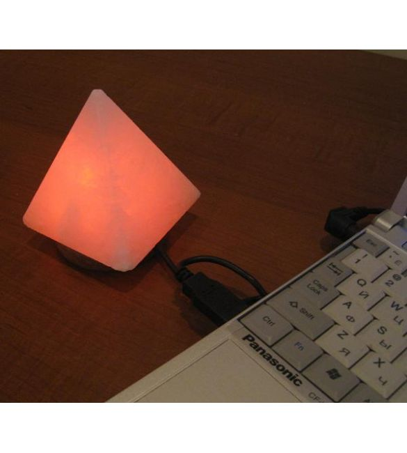 "Солевая USB-лампа ""Пирамида"""