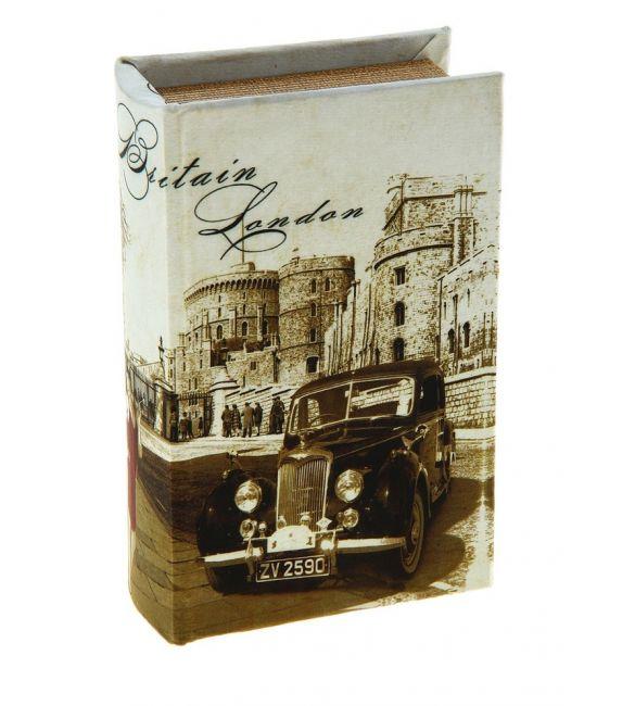"""Книга-сейф """"Путешествие в старый Лондон"""""""