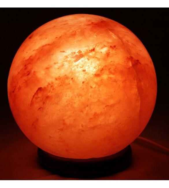 """Солевая лампа """"Феншуй"""" в виде шара"""