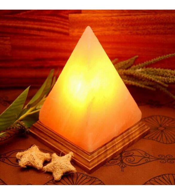 """Солевая лампа """"Пирамида"""" около 3 кг"""