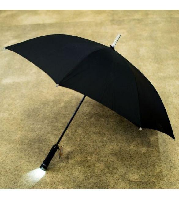 Зонт с фонариком и подсветкой