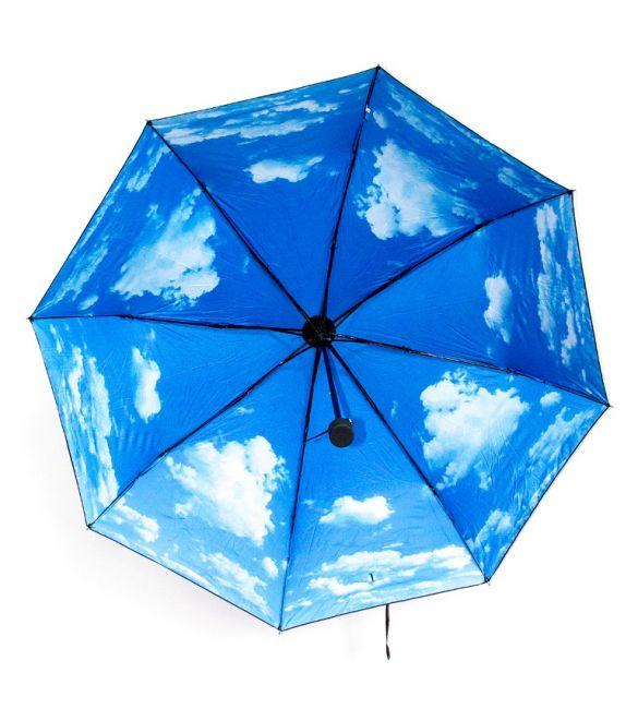 """Зонт складной """"Небо с облаками"""""""